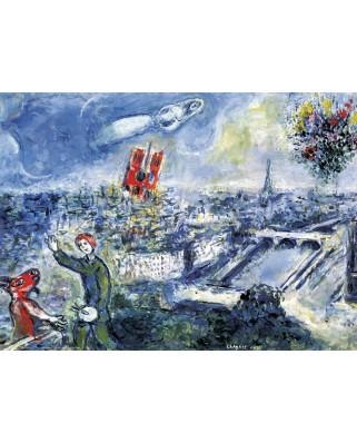 Puzzle Eurographics - Marc Chagall: Le Bouquet de Paris, 1.000 piese (6000-0850)