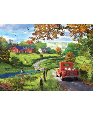 Puzzle Eurographics - Dominic Davison: Country Drive, 1.000 piese (6000-0968)