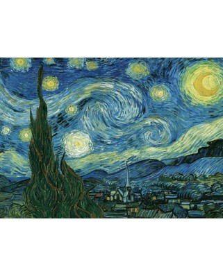 Puzzle Eurographics - Vincent Van Gogh: Starry night, 1.000 piese (6000-1204)