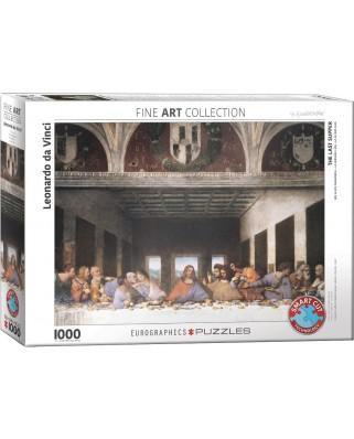 Puzzle Eurographics - Leonardo Da Vinci: The Last Supper, 1000 piese (6000-1320)