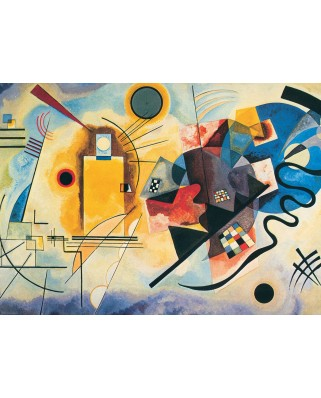 Puzzle Eurographics - Vassily Kandinsky: Yellow, Re, Blue, 1.000 piese (6000-3271)