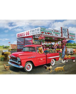 Puzzle Eurographics - 1959 Chevrolet Apache-Giordano, 1000 piese (6000-5337)