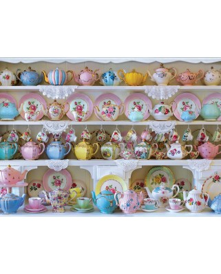 Puzzle Eurographics - Tea Hutch, 1.000 piese (6000-5341)