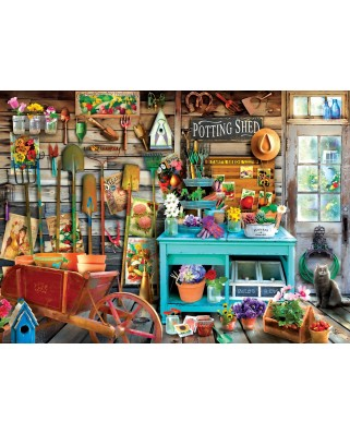 Puzzle Eurographics - The Potting Shed, 1.000 piese (6000-5346)