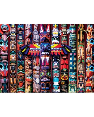 Puzzle Eurographics - Totem Poles, 1.000 piese (6000-5349)