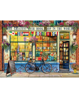 Puzzle Eurographics - The Greatest Bookstore in the World, 1.000 piese (6000-5351)