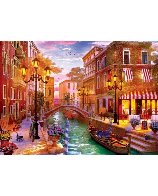 Puzzle Eurographics - Dominic Davison: Sunset over Venice, 1.000 piese (6000-5353)