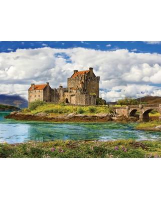 Puzzle Eurographics - Eilean Donan Castle Scotland, 1.000 piese (6000-5375)