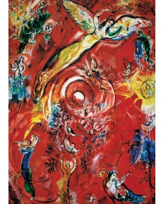 Puzzle Eurographics - Marc Chagall: The Triumph of Music, 1000 piese (6000-5418)