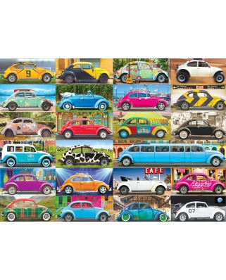 Puzzle Eurographics - VW Beetle - Gone Places, 1.000 piese (6000-5422)