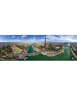 Puzzle panoramic Eurographics - Paris, France, 1.000 piese (6010-5373)