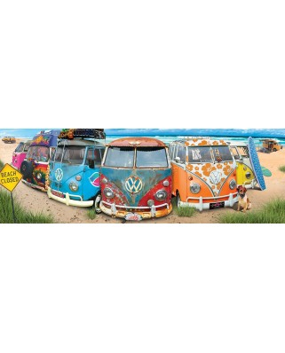 Puzzle panoramic Eurographics - VW Bus - KombiNation, 1.000 piese (6010-5442)