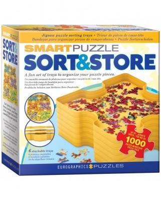 Puzzle Eurographics - Sort & Store - Puzzles Intelligent Organisieren, 6 piese (8955-0105)