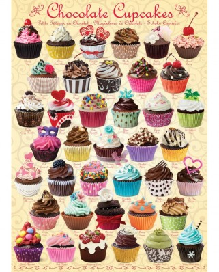 Puzzle Eurographics - Chocolate Cupcakes, 1000 piese (6000-0587)