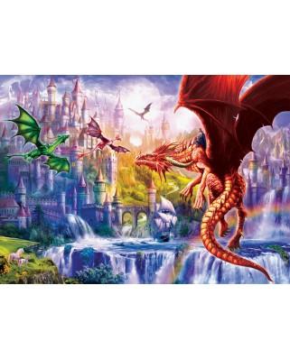 Puzzle Eurographics - Dragon Kingdom, 500 piese XXL (6500-5362)