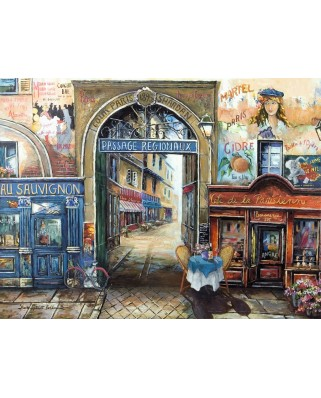 Puzzle Ravensburger - Pasaj Din Paris, 1.500 piese (16241)