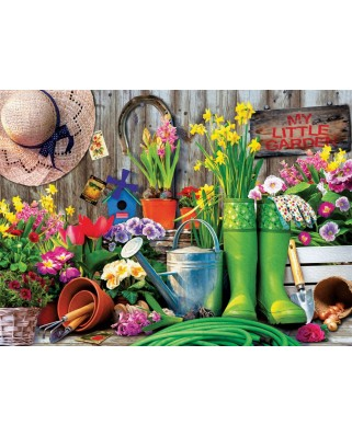 Puzzle Eurographics - Garden Tools, 1000 piese (6000-5391)
