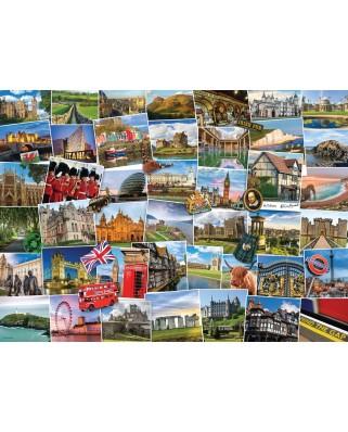 Puzzle Eurographics - Globetrotter United Kingdom, 1000 piese (6000-5464)