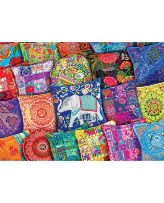 Puzzle Eurographics - Indian Pillows, 1000 piese (6000-5470)