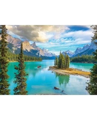 Puzzle Eurographics - Maligne Lake Alberta, 1.000 piese (6000-5430)
