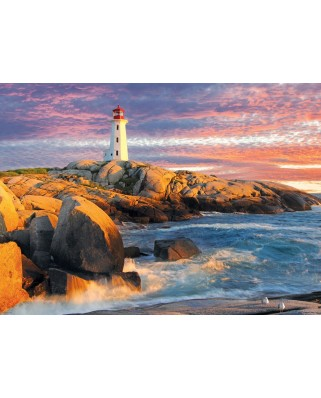 Puzzle Eurographics - Peggy's Cove Lighthouse, 1.000 piese (6000-5437)