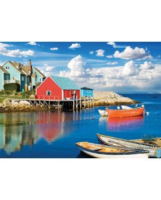 Puzzle Eurographics - Peggy's Cove Nova Scotia, 1.000 piese (6000-5438)