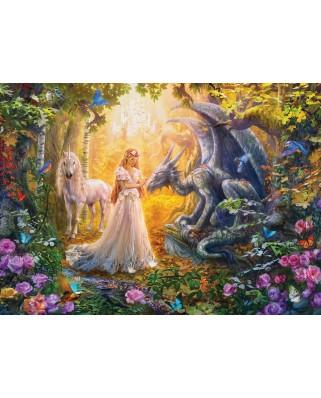Puzzle Eurographics - Princess' Garden, 500 piese XXL (6500-5458)