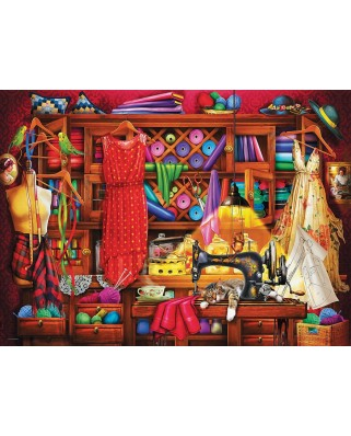 Puzzle Eurographics - Sewing Room, 1000 piese (6000-5347)