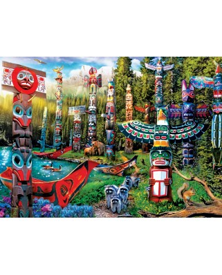 Puzzle Eurographics - Totem Dreams, 500 piese XXL (6500-5361)