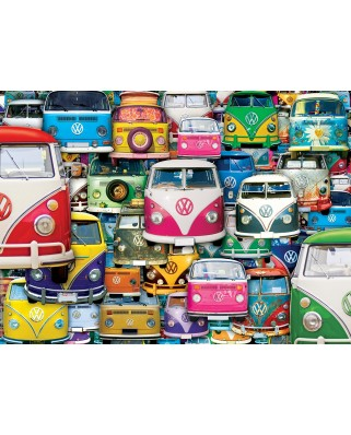 Puzzle Eurographics - VW Funky Jam, 1.000 piese (6000-5423)