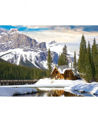 Puzzle Eurographics - Yoho National Park British Columbia, 1000 piese (6000-5428)