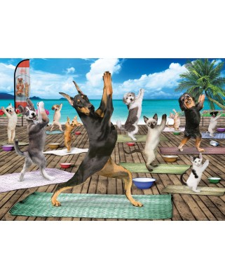 Puzzle Eurographics - Yoga Spa, 500 piese XXL (6500-5454)