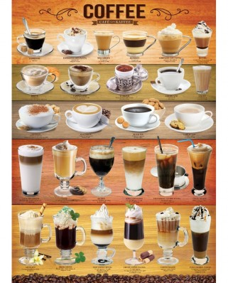 Puzzle Eurographics - Coffee, 1000 piese (6000-0589)