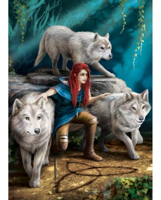 Puzzle Eurographics - Anne Stokes: The Power of Three, 1.000 piese (6000-5476)