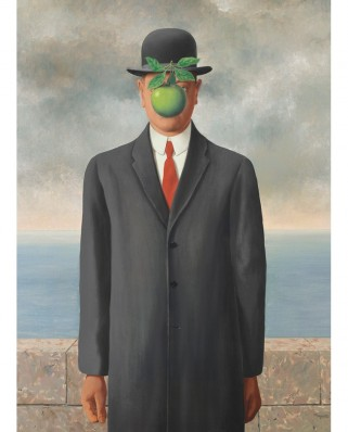 Puzzle Eurographics - Rene Magritte: Son of Man, 1.000 piese (6000-5478)