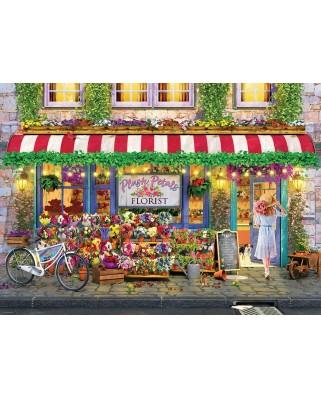 Puzzle Eurographics - Plush Petals Florist P.Normand, 1000 piese (6000-5518)