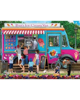 Puzzle Eurographics - Dan's Ice Cream Van P. Normand, 1.000 piese (6000-5519)