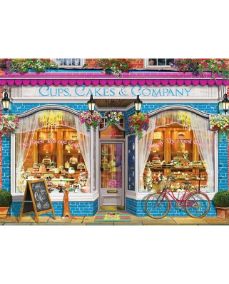 Puzzle Eurographics - Cups Cakes & Company, 1000 piese (6000-5520)