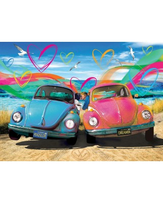 Puzzle Eurographics - Beetle Love, 1.000 piese (6000-5525)