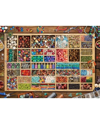 Puzzle Eurographics - Laura's Bead Collection, 1000 piese (6000-5528)