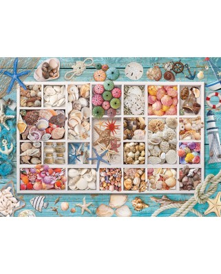 Puzzle Eurographics - Laura's Seashell Collection, 1.000 piese (6000-5529)
