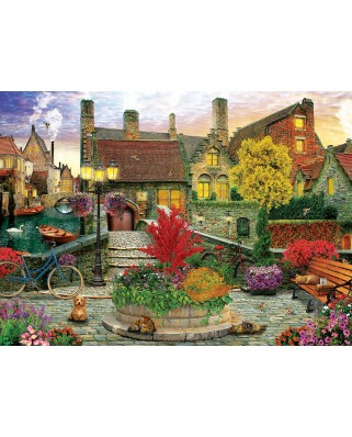 Puzzle Eurographics - Dominic Davison: Old Town Living by Dominic Davison, 1.000 piese (6000-5531)