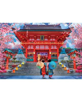 Puzzle Eurographics - David McLean: Sakura Spring, 1000 piese (6000-5533)