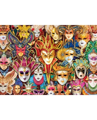 Puzzle Eurographics - Venice Carnival Masks, 1.000 piese (6000-5534)