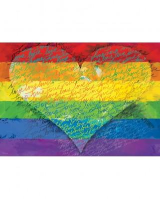 Puzzle Eurographics - Love & Pride!, 1.000 piese (6000-5542)
