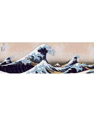 Puzzle panoramic Eurographics - Great Wave of Kanagawa, 1000 piese (6010-5487)