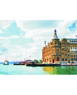 Puzzle Gold Puzzle - Haydarpasa, Istanbul, 1.000 piese (Gold-Puzzle-60065)