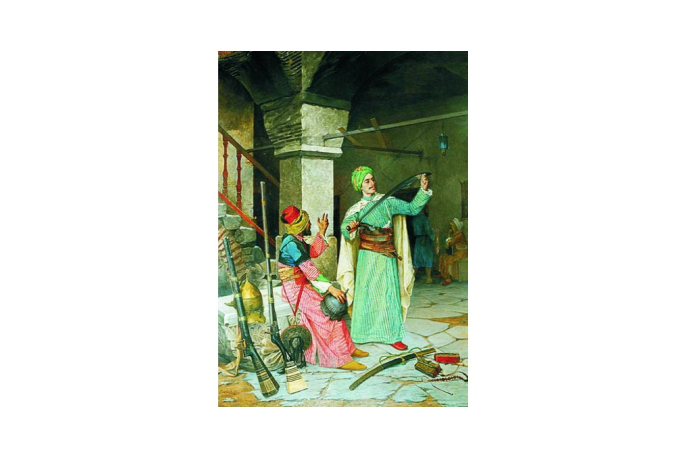 Puzzle Gold Puzzle - Osman Hamdi Bey: Weapon Merchant, 2000 piese (Gold-Puzzle-60263)