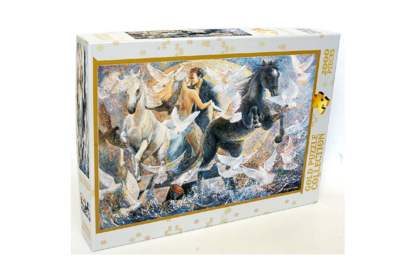 Puzzle Gold Puzzle - In the Cycle of Nature Feelings, 2000 piese (Gold-Puzzle-61017)