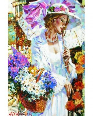 Puzzle Gold Puzzle - Daydreams, 500 piese (Gold-Puzzle-61352)